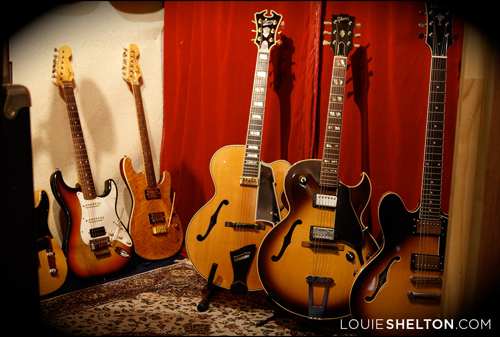 louie-shelton-guitar-collection